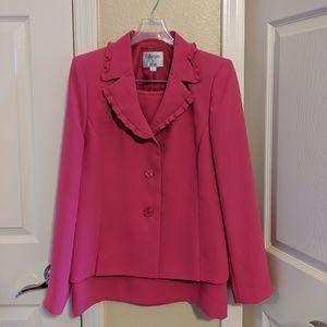 Like New Pink Skirt Suit Set